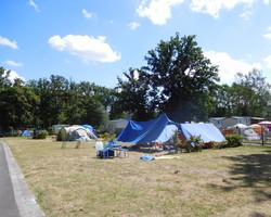 Tente camping - Rouen - Camping du Lac-en