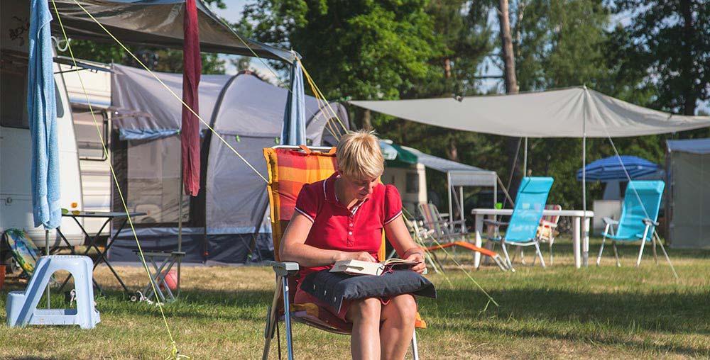 Les dates d'ouverture du camping du lac en 2021